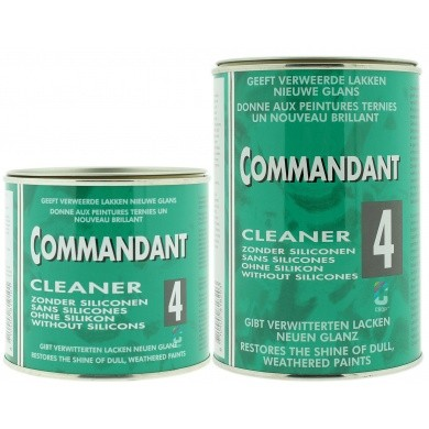 Commandant 4 Cleaner Poetsmiddel - Blik