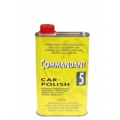 Commandant 5 Car Polish Mild Polijstmiddel