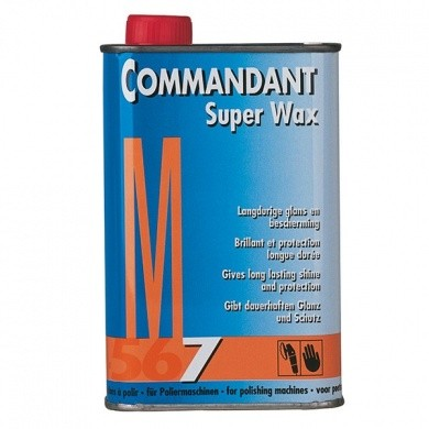 Commandant CM75 Super Wax Machinaal M7 in blik - 500 gram