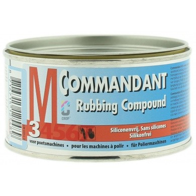 Commandant M3 Polijstmiddel Grof Machinaal - Blik 250 gram