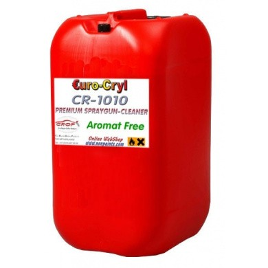 CR1010 Rinsing Thinner and Premium Aromat Free Spraygun Cleaner - 20 Litre