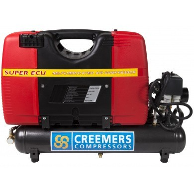 CREEMERS Compact ECU 210 Compressor Laagtoerig & Olievrij 230V