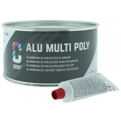 CROP ALU 2K Aluminiumplamuur + Verharder