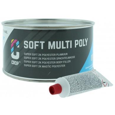 CROP SOFT 2K Polyesterplamuur + Verharder