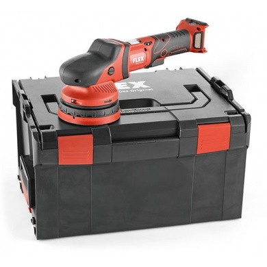 FLEX XCE 8 125 18.0-EC Cordless Random Orbital Polisher 150mm in carying case without batteries and charger
