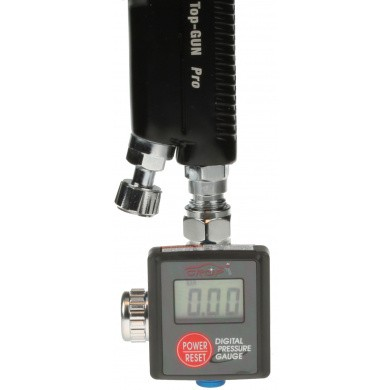 Digital Pressure Gauge with Air Regulator