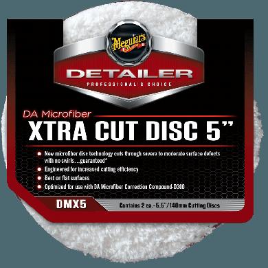 Meguiar's DA Microfiber Xtra Cut Polijstschijf - 2 stuks