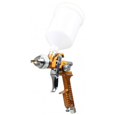 EURO-GUN GOLD HVLP Top Cup Paint Spray Gun