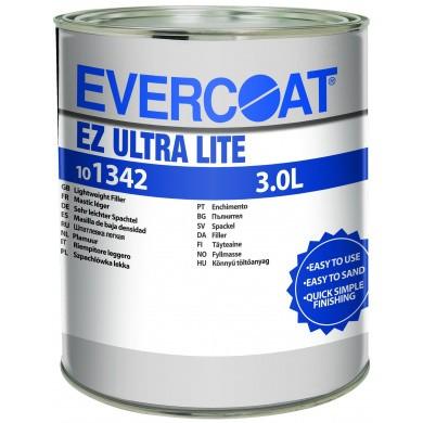 EVERCOAT Lite Weight Fine Filler with Hardener - 3 liters