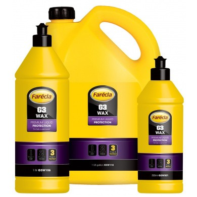 FARECLA G3 WAX Premium Liquid Protection Polish