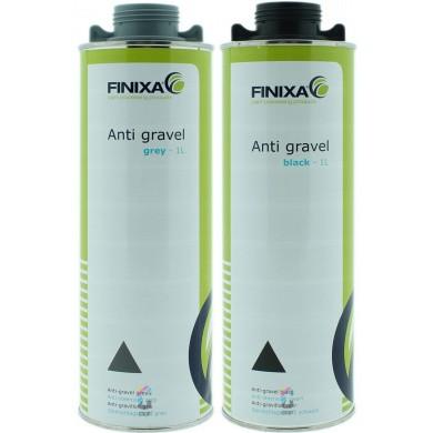 FINIXA Anti-Gravel Coating Paintable in 1 liter Underscrew Can