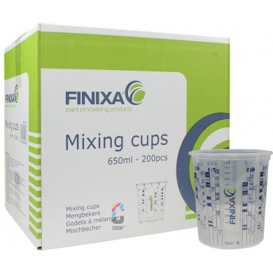 FINIXA Mengbekers 650ml per 200 stuks