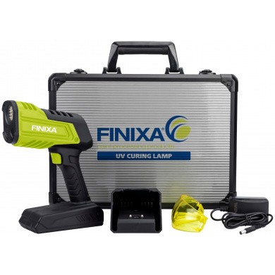 FINIXA UV Drooglamp op accu - UV-A LED technologie