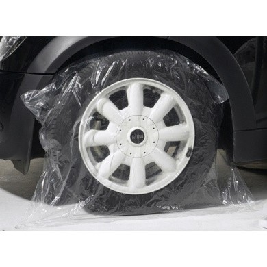 Paint Masking Canvas Wheel Covers JUMBO of canvas for wheels of 22 inch / 4 pieces