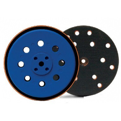 FINIXA Sanding Pad and Support Disc with 8 Holes - 125mm