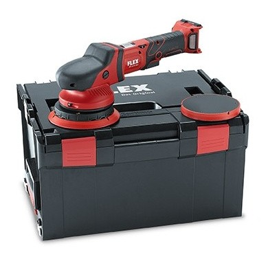 FLEX XFE15 150-18.0-EC 5.0 Cordless Random Orbital Polisher 150mm in carying case without batteries and charger