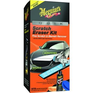 Meguiar's Quik Scratch Eraser Kit - Kratzer und Wirbel entfernen