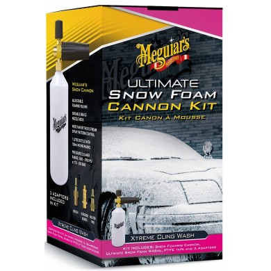Meguiar's Ultimate Snow Foam Cannon Kit - Schuimpistool