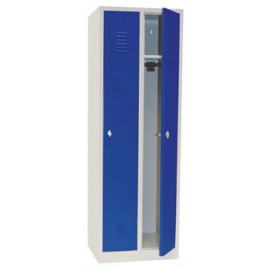 Garderobekast DRL-G 320W met 2 deuren - 16 Kleuren