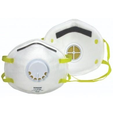 GERSON Stofmasker FFP2 met uitademventiel
