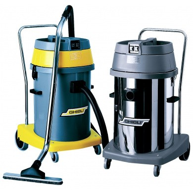 GHIBLI AS59 Silent Vacuum Cleaner and Water Cleaner with Boiler and Accessories - 2000 Watt, 58 liters