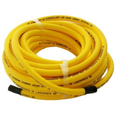 H-Flexcellent super flexible lightweight air hose 8mm with fittings 15 meter