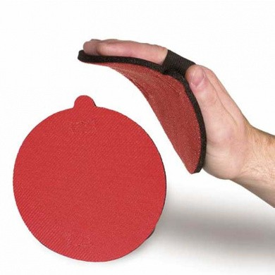 HAMACH HP150 Soft Sanding- and Hand Pad with Elasticated Velcro - 150mm