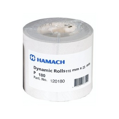 HAMACH Dynamic Sandpaper on roll - 115mm x 23m