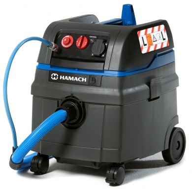 HAMACH HMV6-L EA / PA Water and Pneumatic Automatic Water- and Sanding Vacuum Cleaner