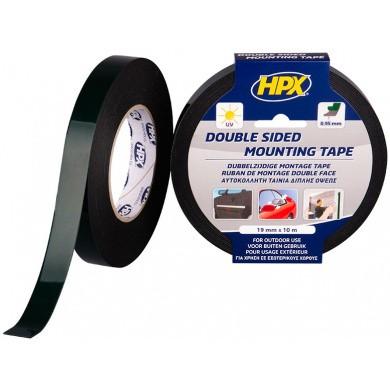 HPX Dubbelzijdig Tape - Zwart