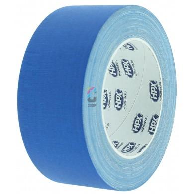HPX Gaffer Tape BLAUW MAT - 25 meter