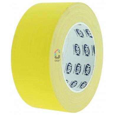 HPX Gaffer Tape GEEL MAT - 25 meter