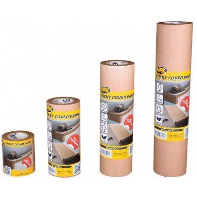 HPX Zelfkelvend Maskerpapier 30 meter - Sticky Cover Paper