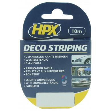 HPX Striping Tape ZWART - 10 meter
