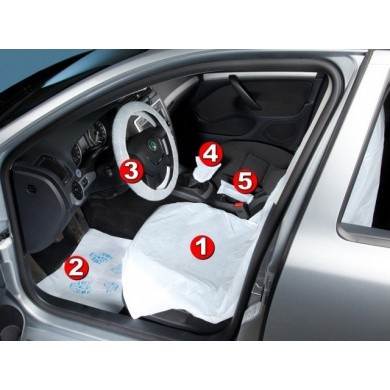 Car Interior 5 in 1 Protection Set