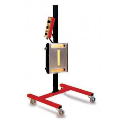 IRT 3 PrepCure infrarood droogstraler 3000 Watt korte golf