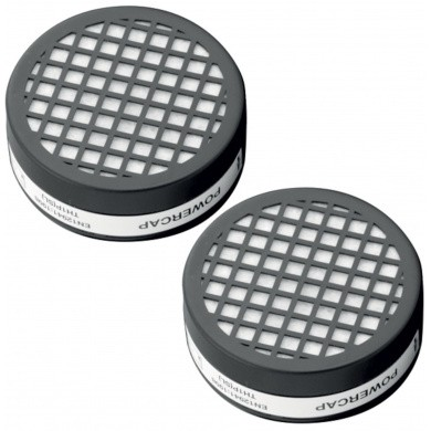 Replacement Filters (Pair) for JSP PowerCap Active - Equivalent to FFP2