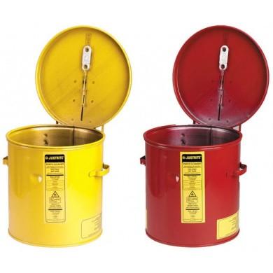JUSTRITE Dompeltank Metaal - Rood & Geel