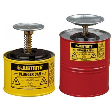 JUSTRITE Stahl-Sparanfeuchter - Rot & Gelb