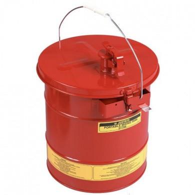 JUSTRITE Draagbare Mengtank 19 liter - Rood