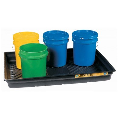 JUSTRITE EcoPolyBlend Spill Tray PVC (low model)