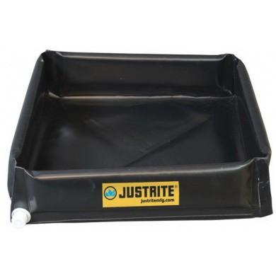 JUSTRITE Mini-Berm Flex Spill Control Tray