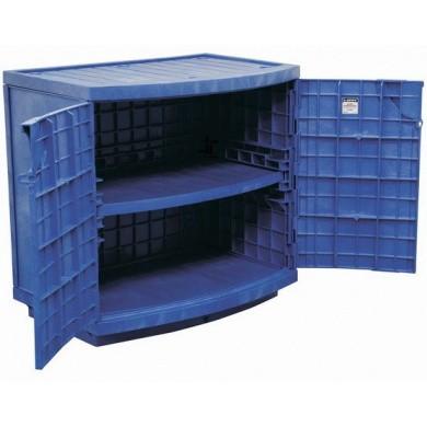 JUSTRITE Polyethyleen Veiligheidskast 90 liter voor bijtende chemicaliën