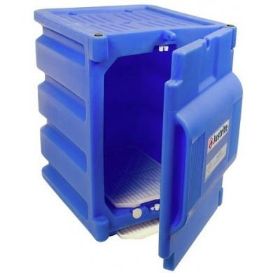 JUSTRITE Polyethylene Corrosives 8 ltr Safety Acid Cabinet