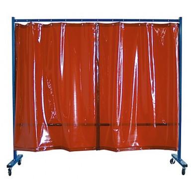 Schweißvorhänge Transparent 215cm breit