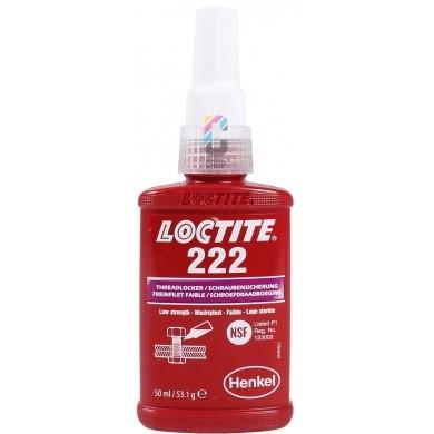 LOCTITE 222 Schroefdraadborgmiddel Paars 50ml - Lage sterkte