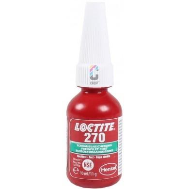 LOCTITE 270 Schroefdraadborgmiddel Rood 10ml - Hoge sterkte