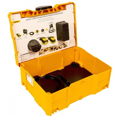 Losse koffer zonder inleg voor MIRKA CEROS of DEROS Schuurmachine