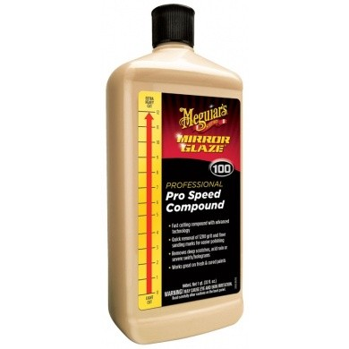Agent de polissage - Mirror Glaze Pro Speed Compound de Meguiar's