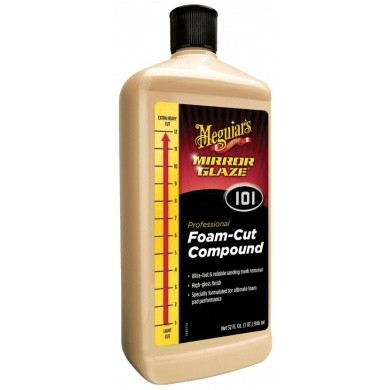Meguiar's Mirror Glaze Foam Cut Compound